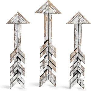 Cade Rustic Wall Decor Arrow Barnwood Decorative A